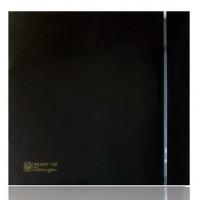 Бытовой вентилятор Silent 100 CRZ Design Black-3C с таймером