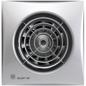 Бытовой вентилятор Silent 100 CRZ Silver с таймером