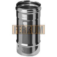 Дымоход Ferrum ф100 0,25м AISI 430 - 0,5мм