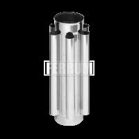 Дымоход - конвектор ф110 AISI 430 - 0.8мм
