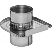 Шибер - задвижка ф110 AISI 430 - 0.8мм