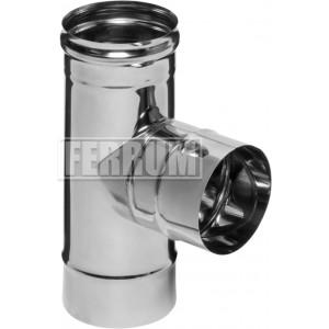 Тройник-К 90гр Ferrum ф160 AISI 430 - 0,5мм