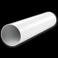 12,5ВП Круглый пластиковый воздуховод Ф125 L=0,5м