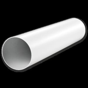 12,5ВП1,5 Круглый пластиковый воздуховод Ф125 L=1,5м