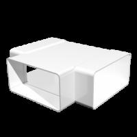 612ТПП Тройник плоский пластиковый  60х120